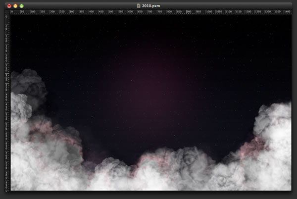 Happy New Year in Pixelmator