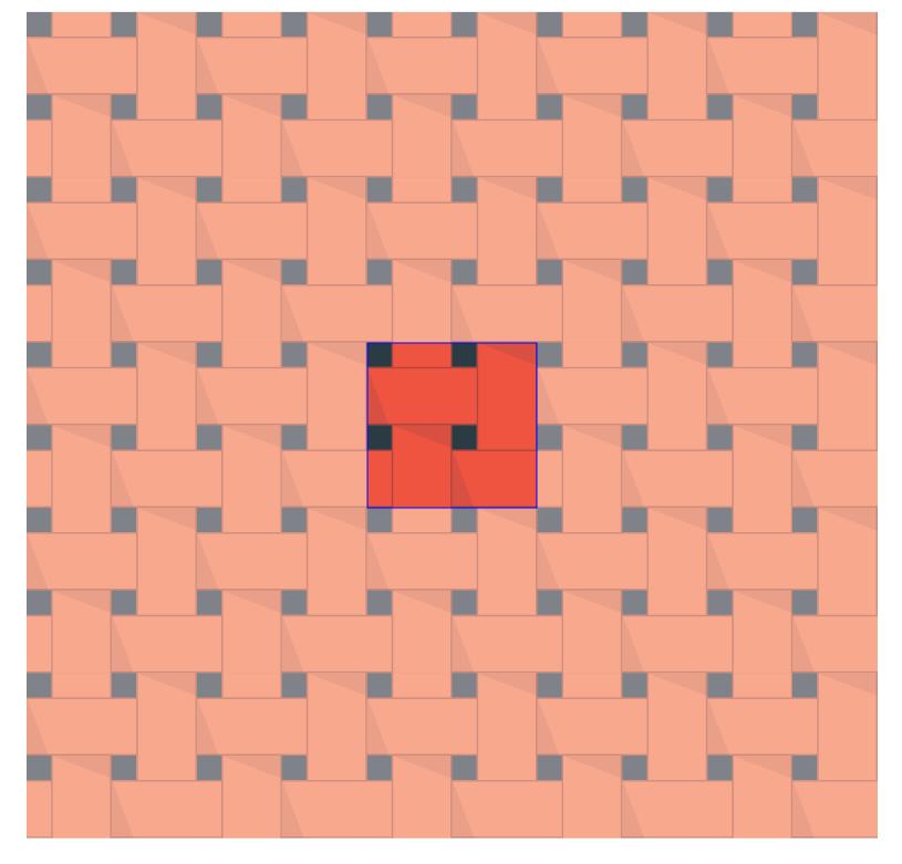 ABDZ Weave Pattern