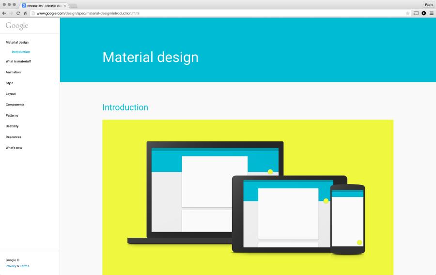 Abduzeedo Material Design