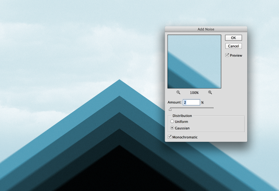 Playing with Triangles in Photoshop