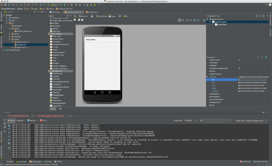 Android Prototyping in Android Studio