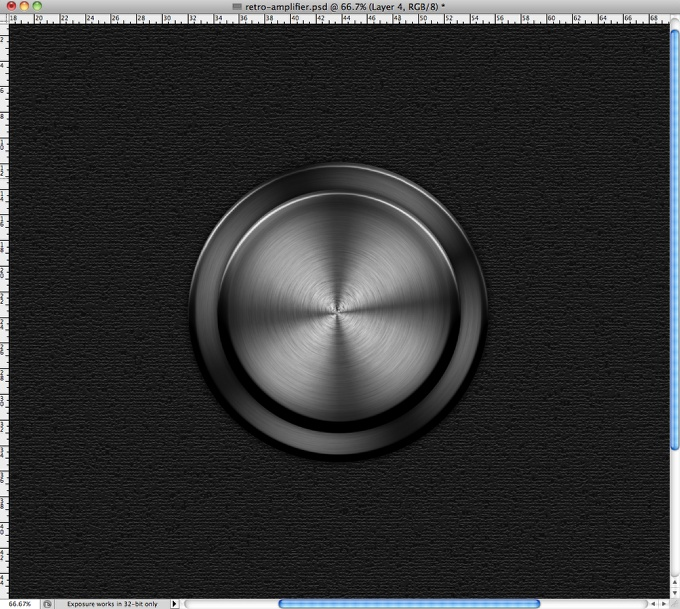 Awesome Amp Controls in Photoshop