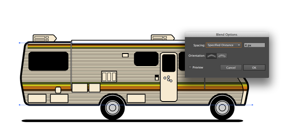 Breaking Bad RV in Illustrator