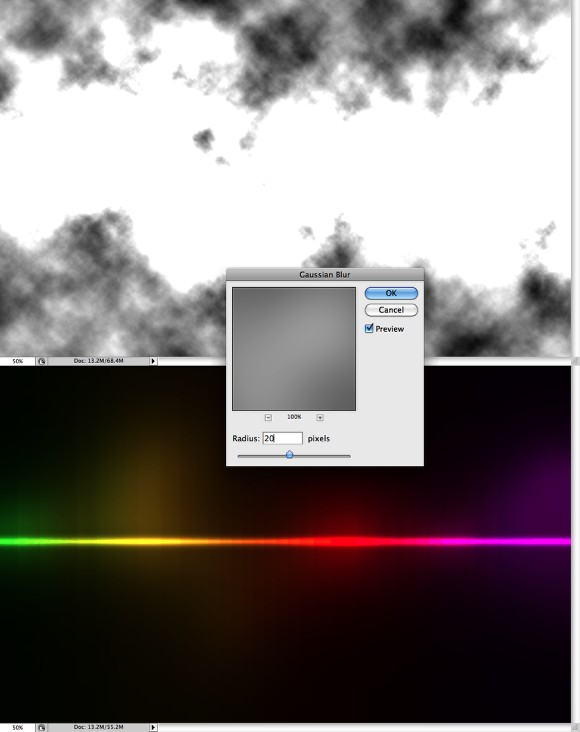 Colorful Light Effect in Photoshop