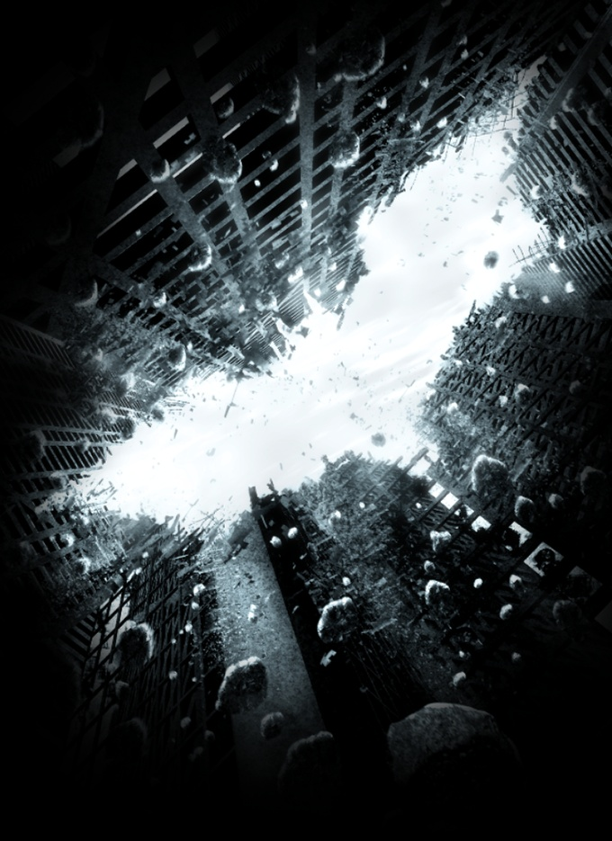 Conclusion 1 - Dark Knight Rises Poster in Photoshop