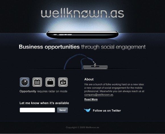 Web Site Design: Wellknown.as Case