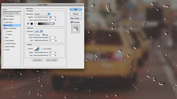 Foggy Window Effect in Photoshop