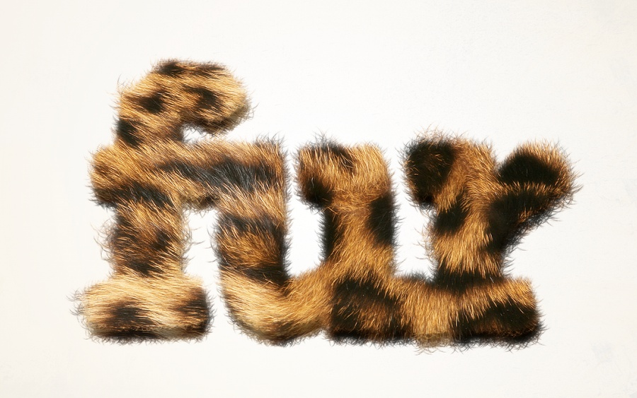 Super Easy Furry Text in Pixelmator