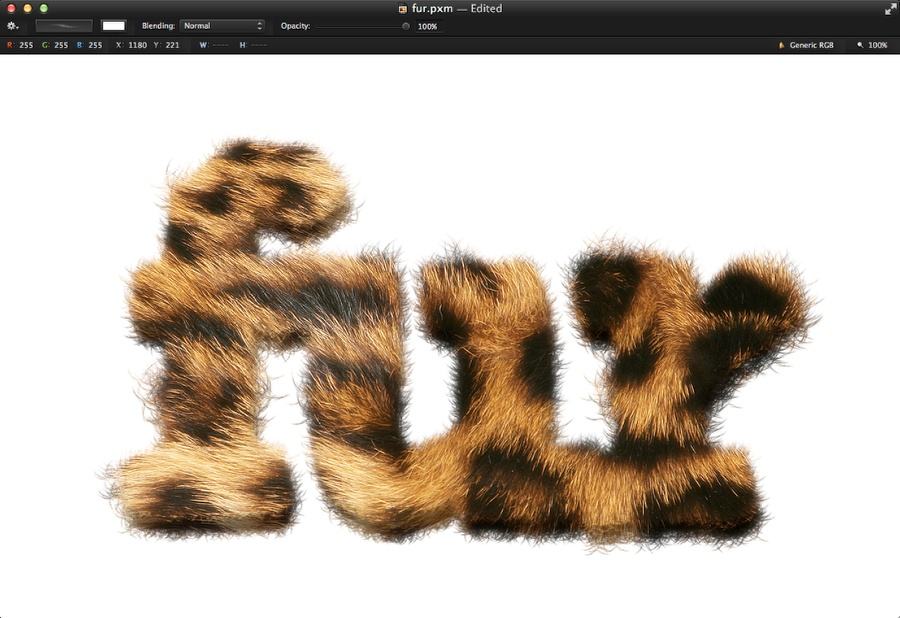 how to select image in pixelmator