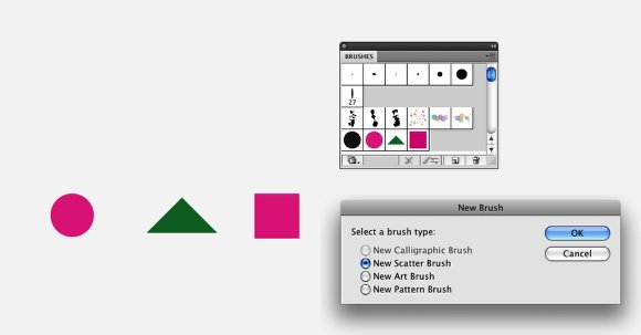 Illustrator Quick Tips #2 - Scatter Brushes