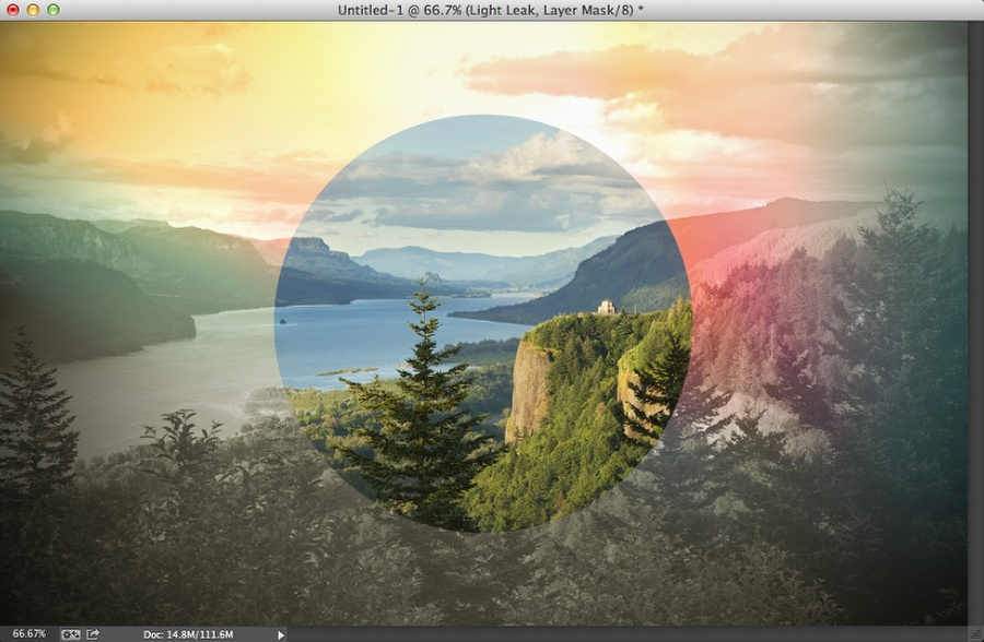 Inspired by Oregon - Photoshop Tutorial