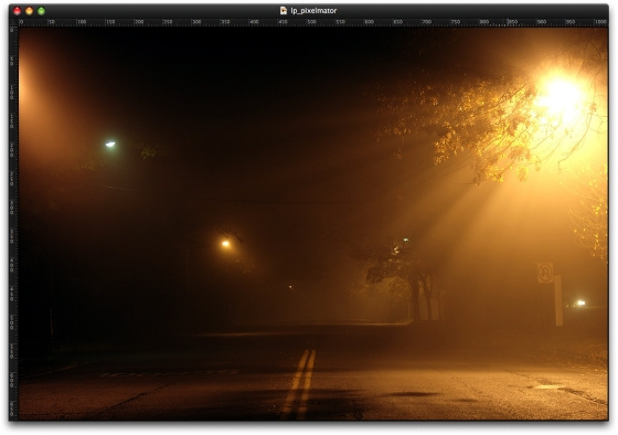 Light Painting in Pixelmator 1.2
