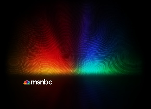 MSNBC Background in Photoshop
