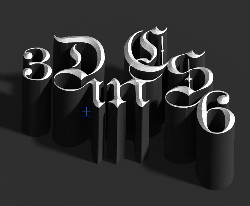 Playing with 3D in Photoshop CS6