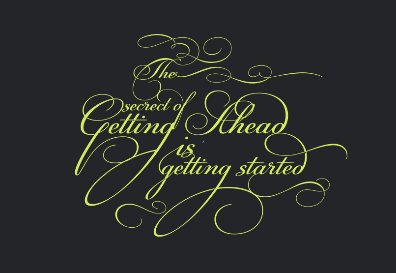 Playing with Ligatures