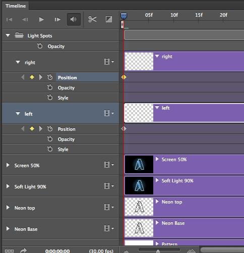 Jugando con línea de tiempo en Photoshop CS6