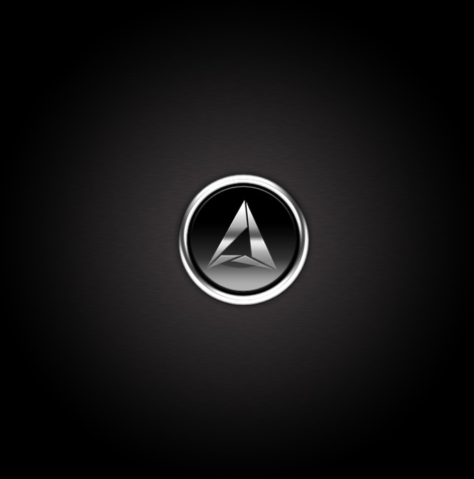 Stylish Metallic Button in Photoshop