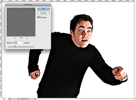 Bizarre Photo Treatment in Photoshop