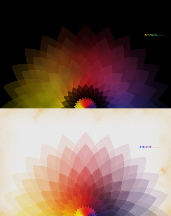 Super Cool Abstract Vectors in Illustrator and Photoshop