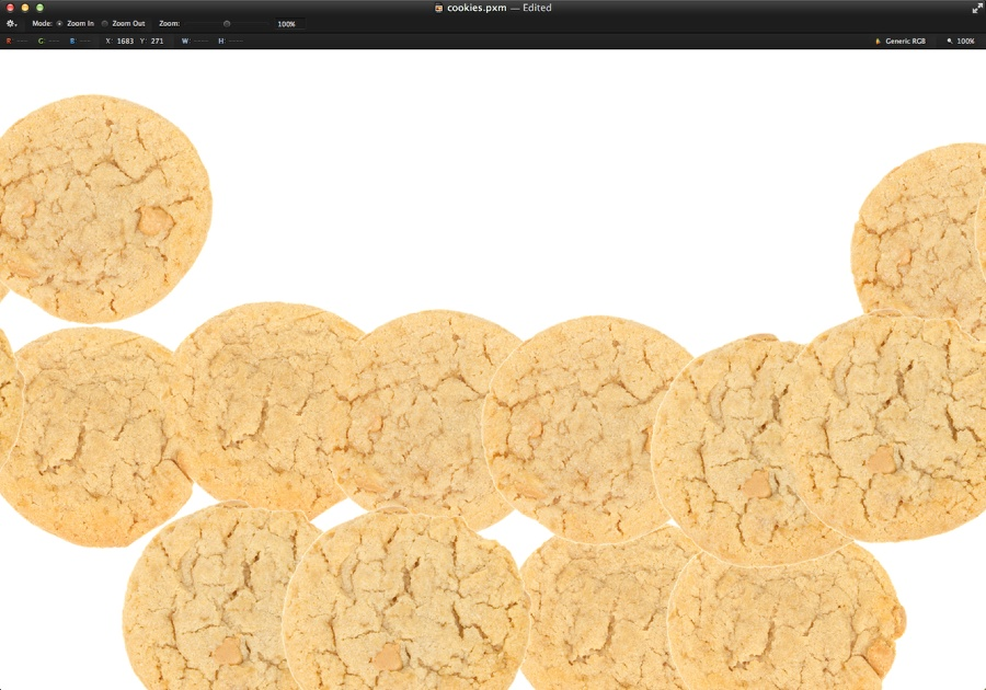 Sweet Cookies Typography in Pixelmator