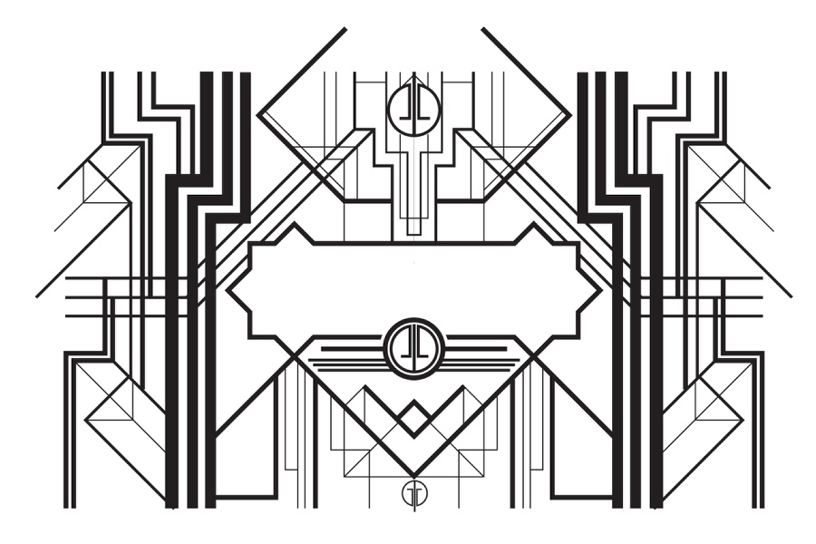 The Great Gatsby Deco Style in Illustrator and Photoshop