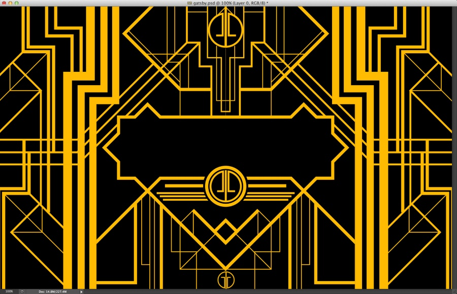The Great Gatsby Art Deco Style In Illustrator And