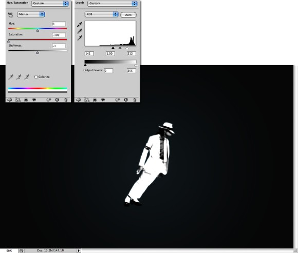 Tribute to Michael Jackson Photoshop Tutorial