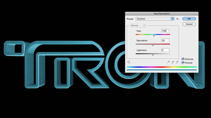 Tron en Photoshop Tutorial