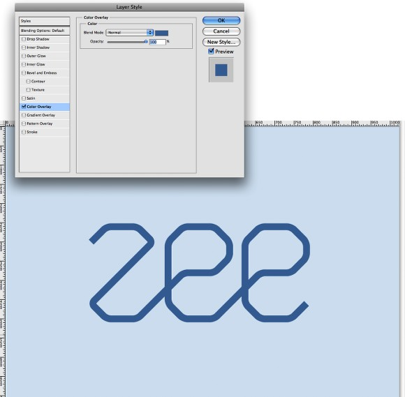 Zee Logo in Illustrator