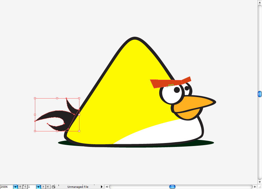 Yellow Angry Bird Flying Let s draw a cap for this bird