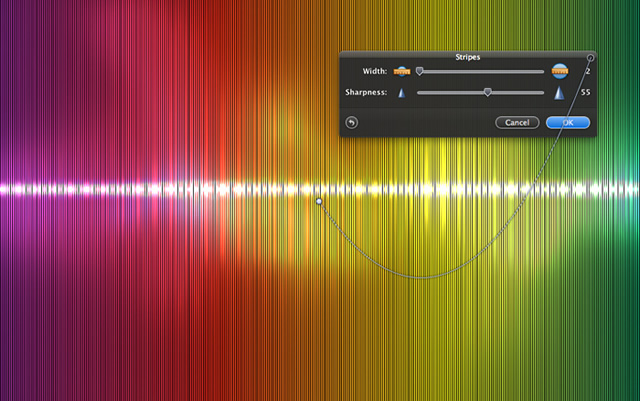 Creating a Colorful Light Effect with Pixelmator