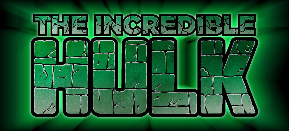 easy hulk logo on illustrator and photoshop