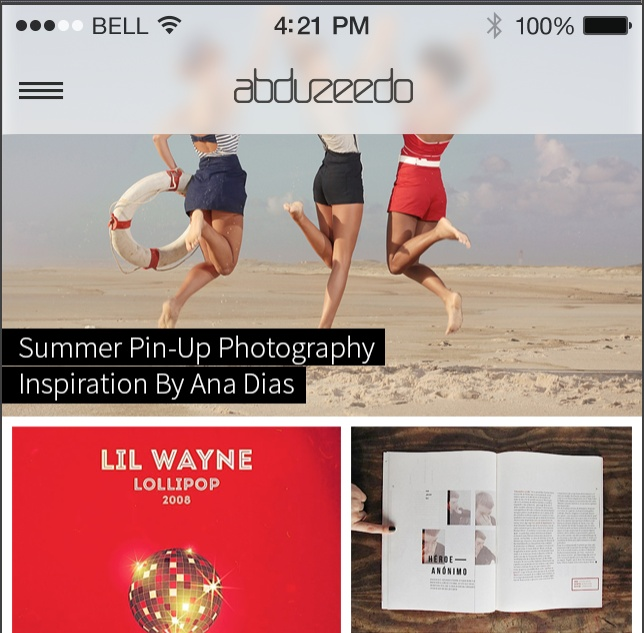 iOS7 UI Effects in Photoshop and After Effects