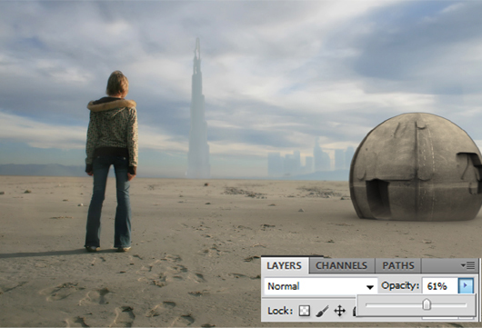 Planet X Matte Painting in Photoshop by Santosh