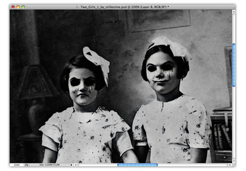 Reader Photoshop Tutorial: Sisters by Marcos Torres