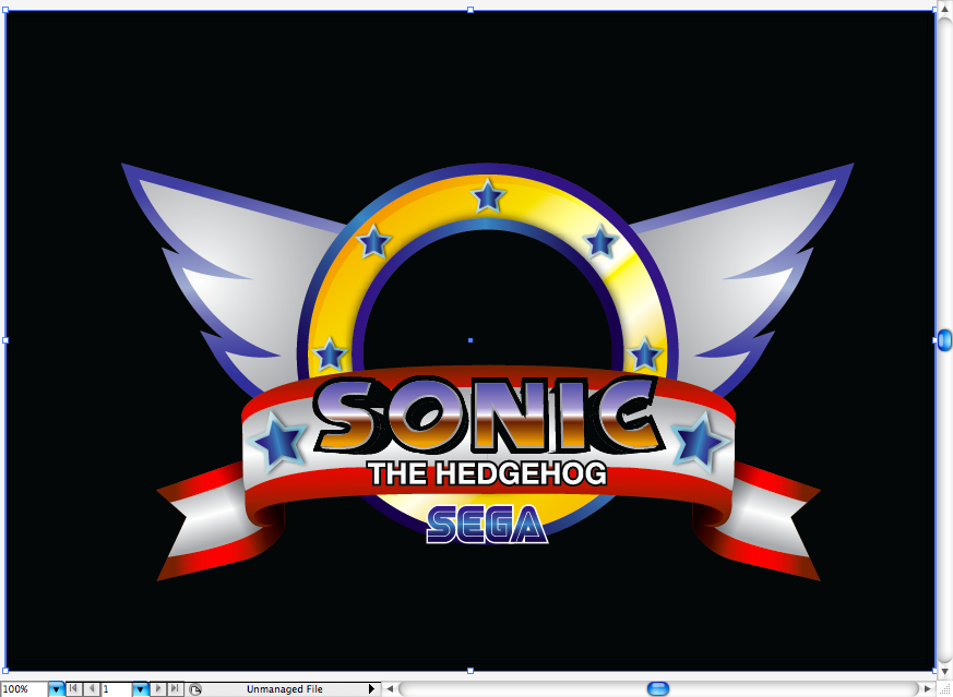 Create Sonic The Hedgehog Opening On Illustrator We Love Brisbane Website Design