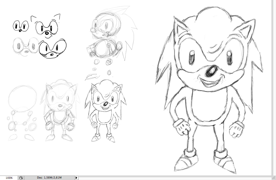 Create Sonic The Hedgehog Opening On Illustrator We Love Brisbane