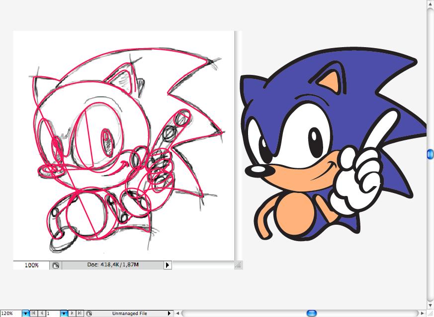 Aprende a Dibujar Sonic The Hedgehog Tutorial - Hazlo tu mismo ...