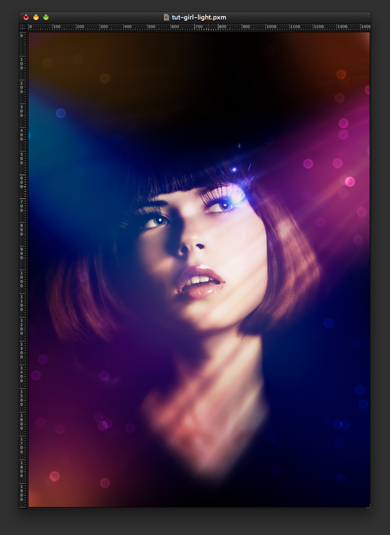 Stylish Light Effect in Pixelmator