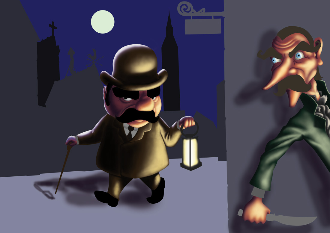 Reader Tutorial: Cartoon Character in Photoshop