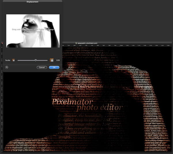 Creating a Typographic Portrait in Pixelmator
