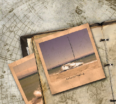 Reader Tutorial: Create Vintage Traveler Diary in Photoshop