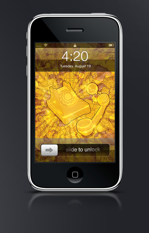 Let's talk about death - Guilher Marconi's iPhone Wallpaper Set