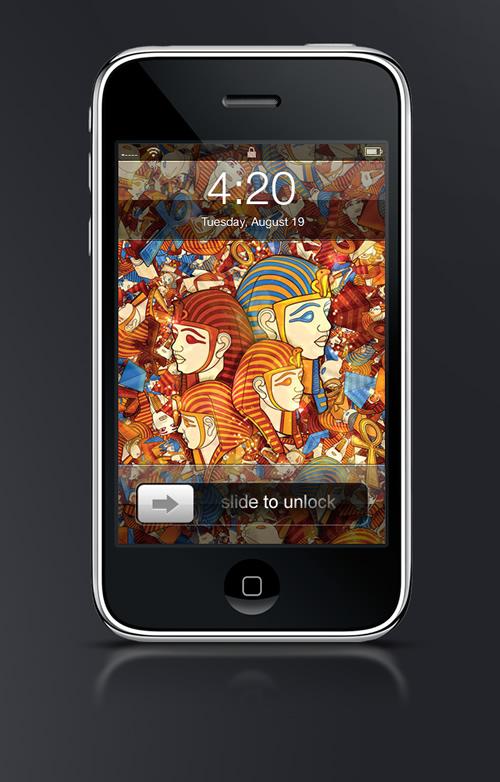 Egito: Simply Egypt - Guilher Marconi's iPhone Wallpaper Set