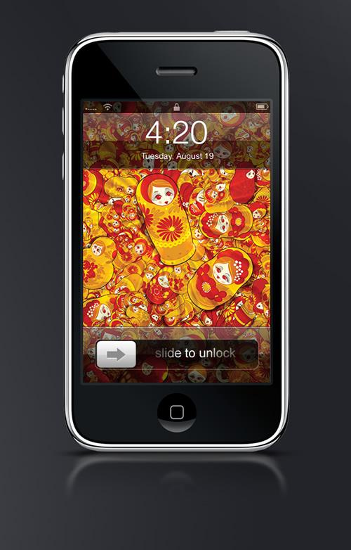Matryoshka - Guilher Marconi's iPhone Wallpaper Set