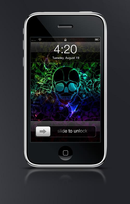 Skull - Guilher Marconi's iPhone Wallpaper Set