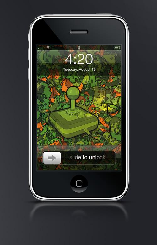 Atari - Guilher Marconi's iPhone Wallpaper Set