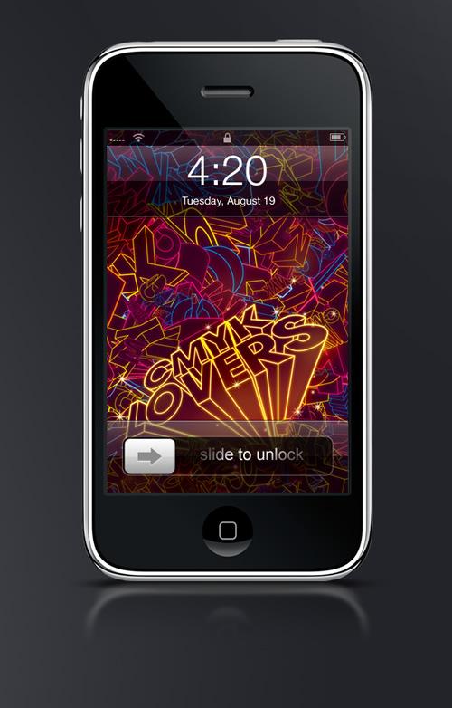 CMYK Lovers - Guilher Marconi's iPhone Wallpaper Set