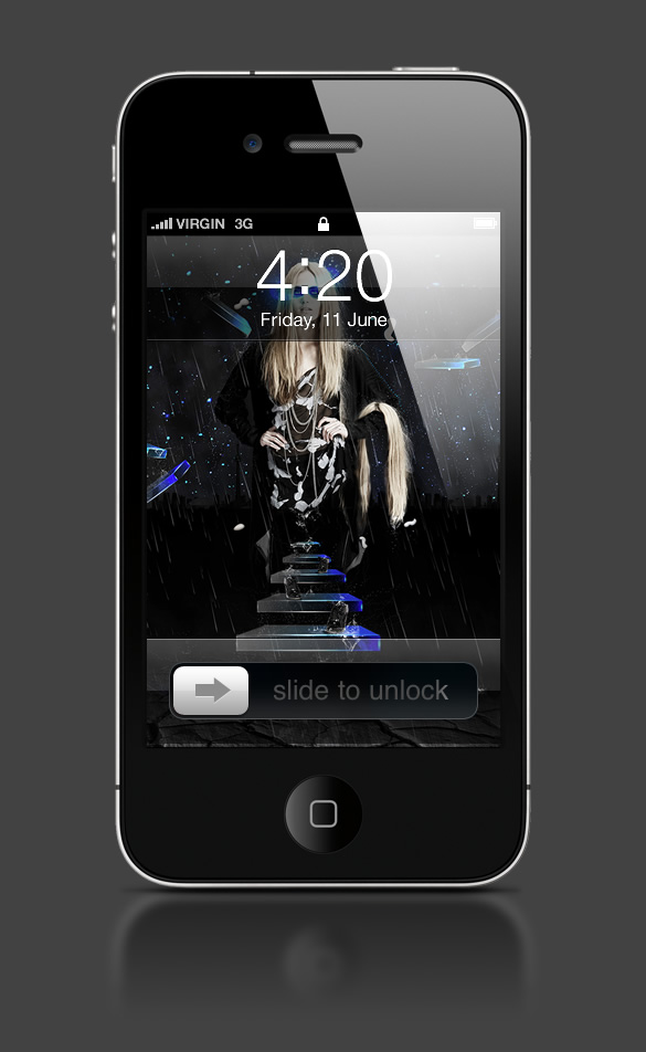 Abduzeedo's iPhone wallpaper of the week by Khyzyl Saleem