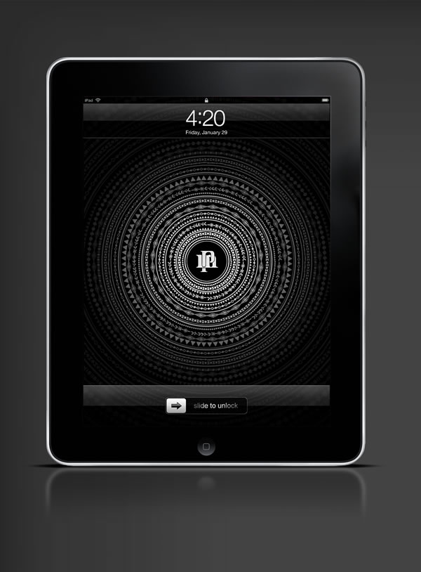 Abduzeedo's iPad wallpaper of the week by  Perttu Murto